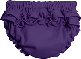 City Threads Baby Girls' 100% Soft Cotton Ruffle Diaper Cover Bloomers Made USA