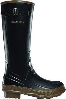 حذاء المطر للسيدات من LaCrosse مقاس 35.56 سم أحمر