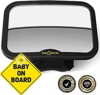 ROYAL RASCALS   Espejo para vigilar al bebé en el coche  
