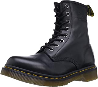 Dr. Martens Womens 1460W Originals Eight-Eye Lace-Up Boot, Black, 8 M US/6 UK