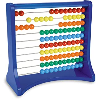 Learning Resources Ten-Row Abacus,Multi-color