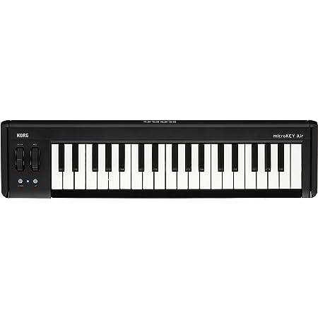KORG 定番 ワイヤレス MIDIキーボード microKEY Air-37 音楽制作 DTM 省スペースで自宅制作に最適 すぐに始められるソフトウェアライセンス込み 37鍵