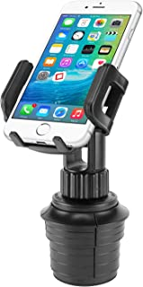 Cellet Smart Phone Cup Holder Mount, Automobile Cradle Compatible with Apple iPhone Xs Max XR 8 Plus, Galaxy S10 S10e S10Plus, S9 S9Plus Note 9, Motorola Moto g6 Play e5 Pixel 3 XL (6inch Neck)