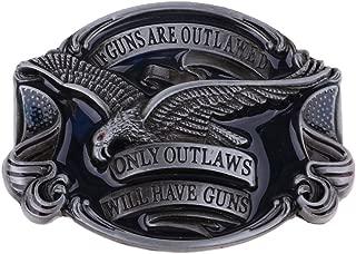 HOMYL Vintage Classic Zinc Alloy Hawk American Western Cowboy Cowgirl Soaring Eagle Belt Buckle
