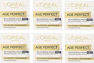 6 x L'Oreal Paris Age Perfect Re-hydrating Night Cream 50ml