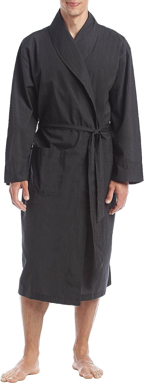 Hanes Size Tall Men's Woven Shawl Collar Robe