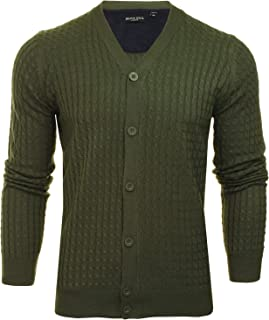 Brave Soul Men's 'Milford' Cable Knit Cardigan