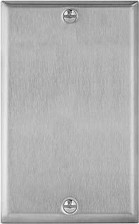 ENERLITES Blank Device Metal Wall Plate, Corrosive Resistant, Size 1-Gang 4.50