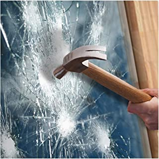BDF S8MB50 Window Film Security and Safety 8 Mil Black 50 (Light) - 30in X 12ft