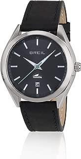 Reloj BREIL por Hombre Manta City con Correa de Piel de Becerro, Movimiento Time Just - 3H Cuarzo