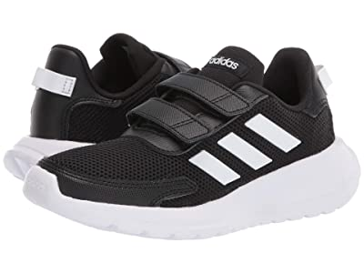 adidas Kids Tensaur Run (Little Kid) (Black/White 1) Boy