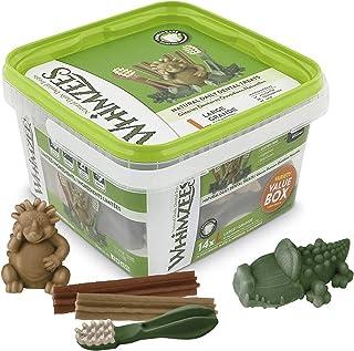 WHIMZEES Natural Grain Free Daily Dental Dog Treats Variety Packs 14Large, Grade 840g