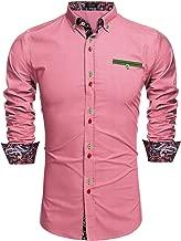 Best pink paisley mens shirt Reviews
