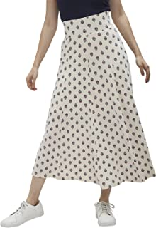 DJ & C Rayon Pleated Skirt