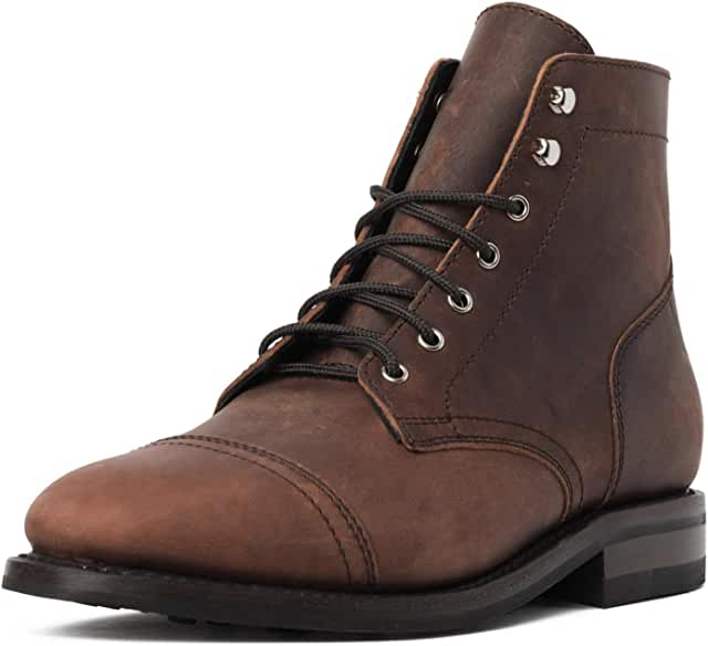 Rugged & Resilient Captain Men's Lace-up Boot