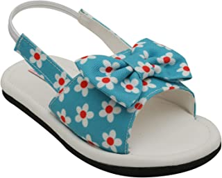 D'chica Blue Summer Love Sandals for Girls Fashion