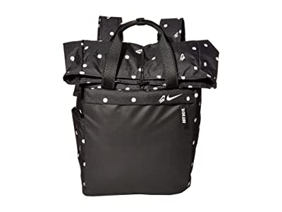 Nike Radiate Backpack (Black/Black/White) Backpack Bags