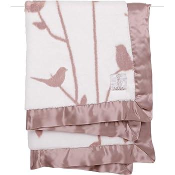 TM Little Giraffe Bliss Windowpane Blanket Blue Color Original Price $61
