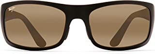 Maui Jim Sunglasses | Men's | Haleakala 419 | Wrap Frame, Polarized Lenses, with Patented PolarizedPlus2 Lens Technology
