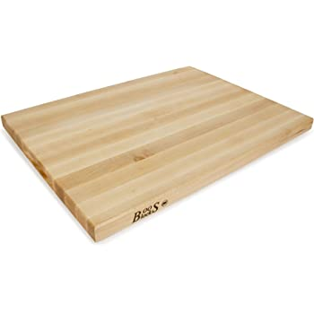 John Boos R02 Maple Wood Edge Grain Reversible Cutting Board, 24 Inches x 18 Inches x 1.5 Inches