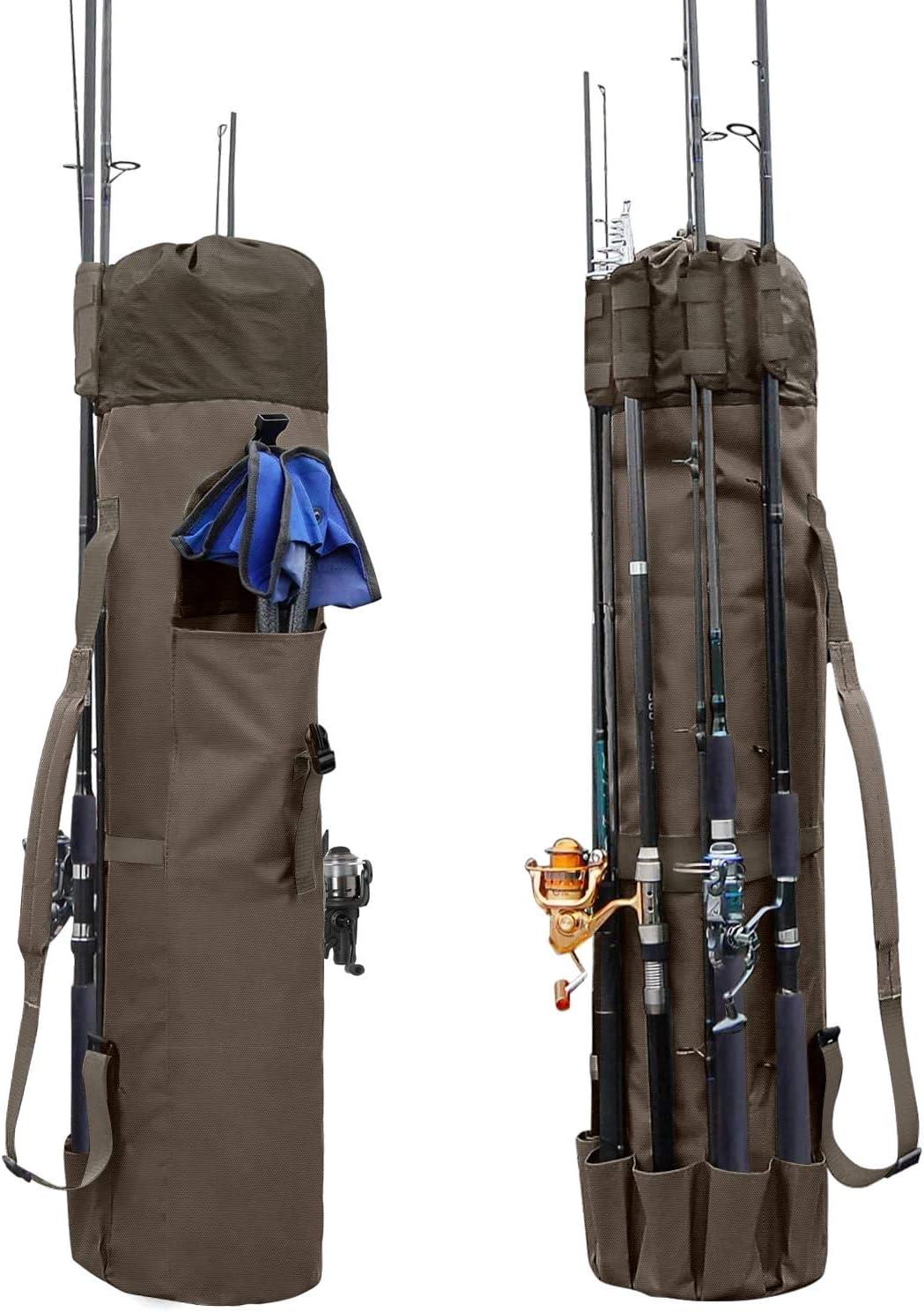 80cm Angler Angeltasche Rutentasche Teleskopangel Teleskop Ruten Angel Tasche