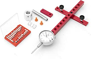 A-Line It Deluxe Kit with Dial Indicator and More For Aligning and Calibrating Work Shop Machinery Like Table Saws, Band S...