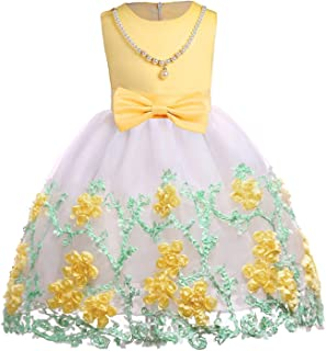 Surprise S Summer Dresses Girls Elegant Princess Dress Flower Girls Wedding Children Evening Party Dresses
