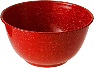 GSI Outdoors Red Graniteware 10 3/4 Inch Mixing Bowl