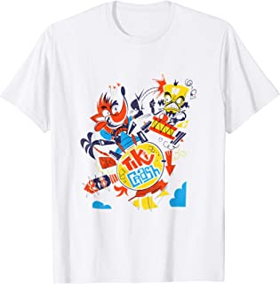 Crash Team Racing Tiki Crash vs. Neo Cortex  T-Shirt