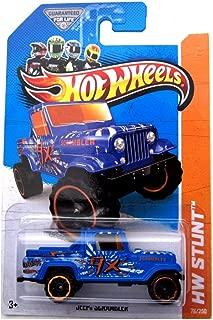 Hot Wheels 2013 Jeep Scrambler HW Stunt 78/250