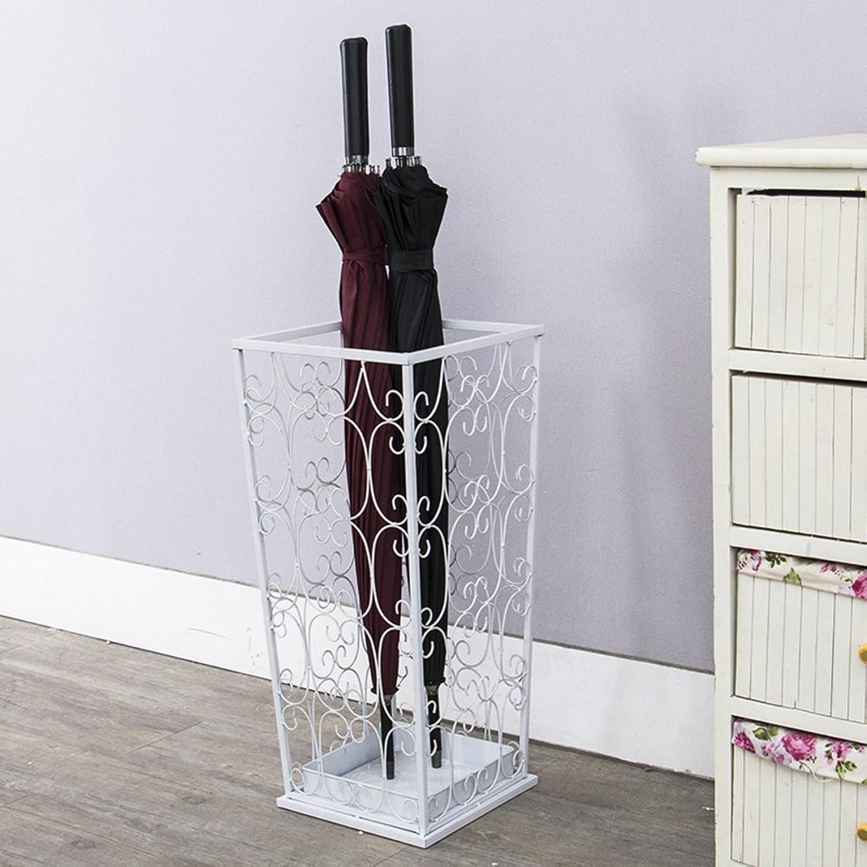 GX&XD Umbrella Stands Rack Rain Gear Shelves Entryway Hallway European Style Household use Creative Storage Shelf Shelf-B 20x20x53cm(8x8x21)