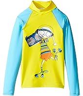 Little Marc Jacobs - Swimsuit Long Sleeve Tee Shirt (Little Kids/Big Kids)