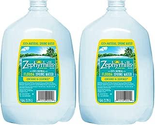Zephyrhills Natural Spring Water, 1 Gal. Bottle (2-Pack)