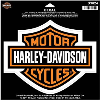 Harley davidson bar shield large decal large size sticker d3024