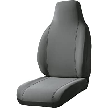 FIA NP97-12 Black with Gray Cover NP97-12 GRAY Front Bucket Seats//Neoprene Center Panel