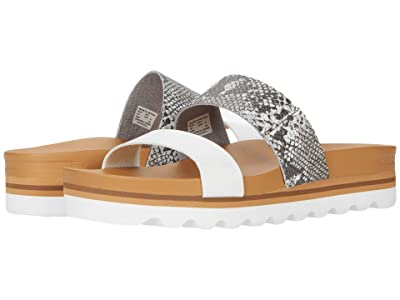 Reef Cushion Vista Hi (Snake/White) Women