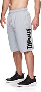 TapouT Men's Performance Heather Workout Gym & Running Shorts w Pockets - 12 Inch Inseam