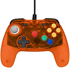 Retro Fighters Brawler64 Gamepad Next Gen Controller for N64 - Orange