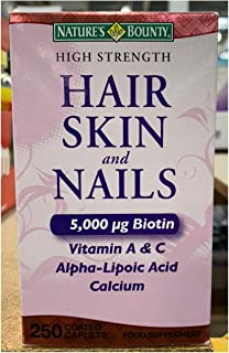 Natures Bounty Extra Strength Hair Skin Nails