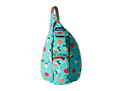 KAVU Mini Rope Bag (Citrus Grove) Bags