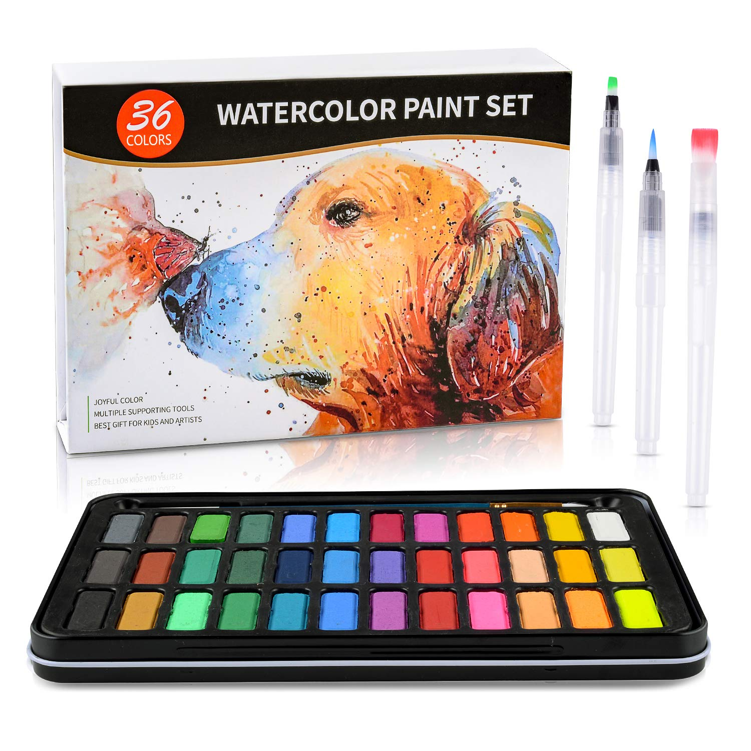 Watercolor Paint Set Painting Coloring