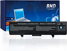 BND Battery Compatible with Dell Inspiron 1525 1526 1545 1546 PP29L PP41L Series Vostro 500, fits P/N X284G M911 M911G GW240 RN873 GP952 RU586 C601H 312-0844 - 12 Months Warranty [6-Cell 4400mAh/49Wh]