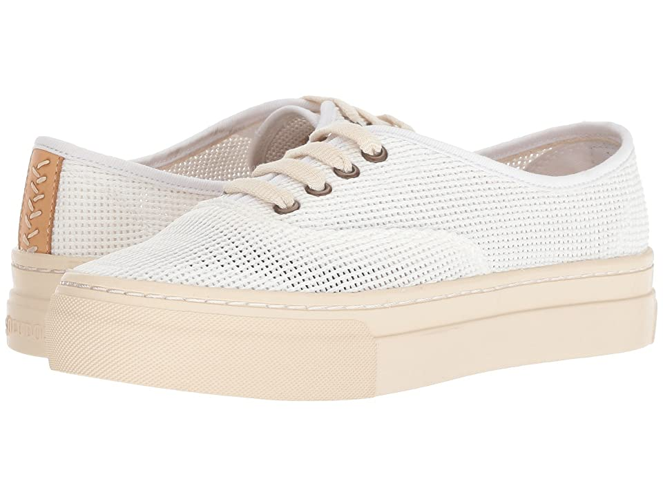 Soludos Platform Mesh Sneaker (White) Women