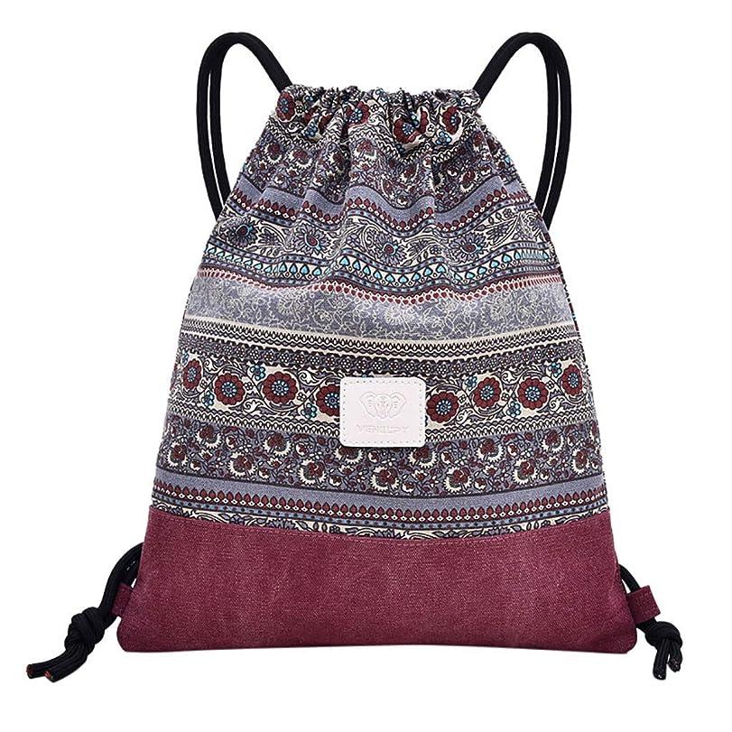 酸っぱい拮抗スーツケースバックパックフィットネスバッグ女性スポーツバッグFolk-Custom Bouquetポケットビーチバッグ