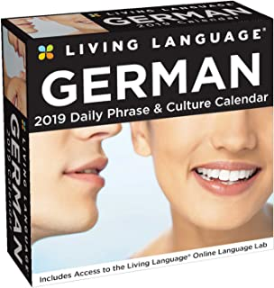 Living Language: German 2019 Day-to-Day Calendar