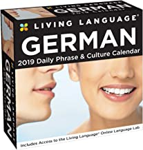 Best living language: german 2019 day-to-day calendar Reviews