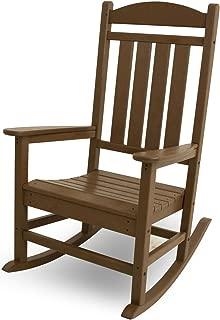 POLYWOOD R100TE Presidential Rocking Chair, Teak
