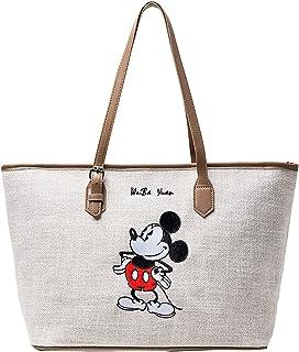 Mickey Mouse Einkaufstasche Shopper Disney Umhängetasche Große Kapazität Mickey Maus Handtasche Zipper Cartoon Tasche Schu...
