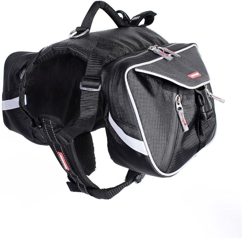 EzyDog High Quality Summit Dog Backpack Saddle Bags Outdoor Walking Travel Large