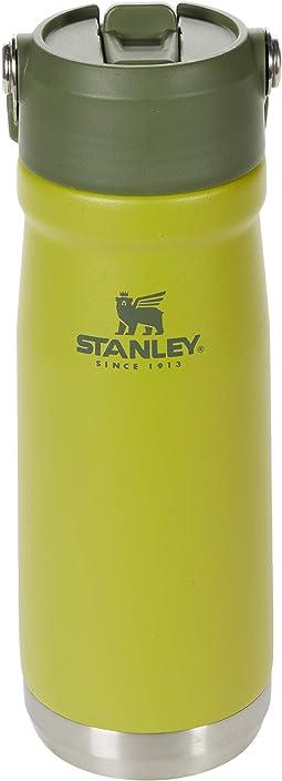 22 oz/.65 L The IceFlow Flip Straw Water Bottle